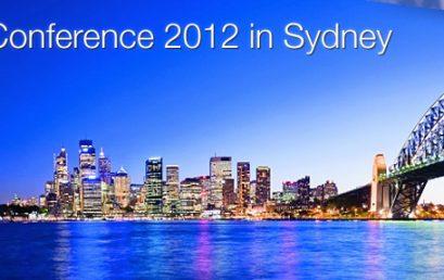 2012 Sydney, Australia Annual Meeting