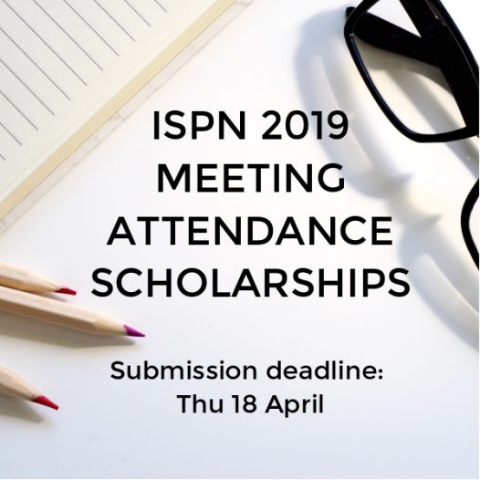 ISPN 2019 Meeting Attendance Scholarships open for application!