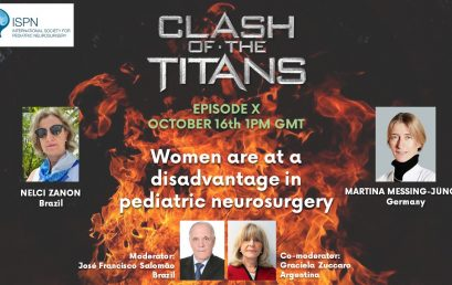Women are at a disadvantage in pediatric neurosurgery – Register now for our next Clash of the Titans